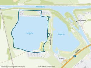 Laufstrecke Barleber See