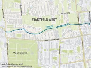 Laufstrecke Stadtfeld West