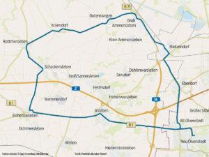 Fahrradstrecke Börde