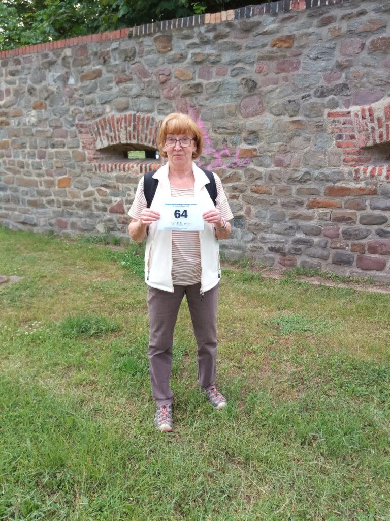 Hallo Volksstimme, anbei mein Bild zur heutigen Wanderung zum 130. Geburtstag der Volksstimme. Mit sonnigen Grüßen Regina W. aus Magdeburg