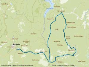 Wanderweg Torfhaus-Brocken