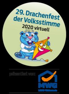 Logo Drachenfest der Volksstimme