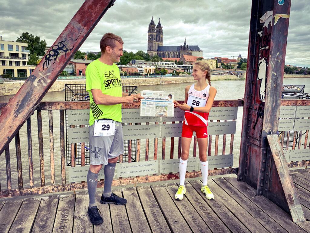 Sportliche Grüße von Mimi und Jens M.