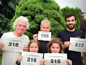 Volksstimme bewegt Teilnehmer Familie Graubach