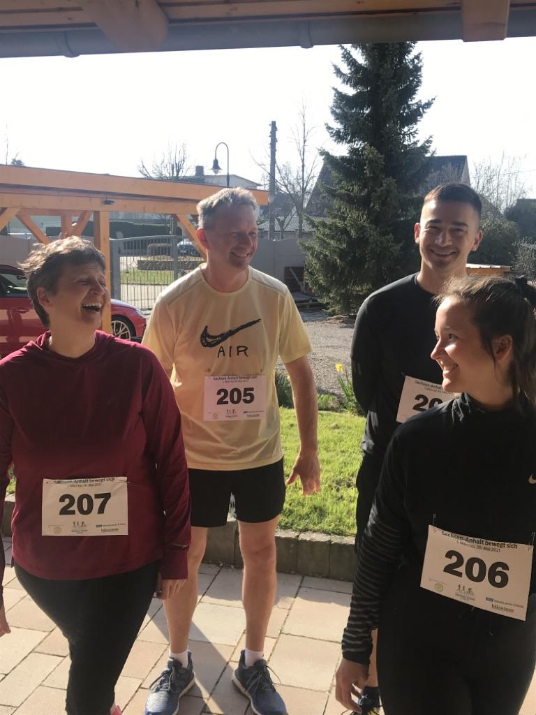 Wir hatten Spaß bei unserem 10 km Lauf!