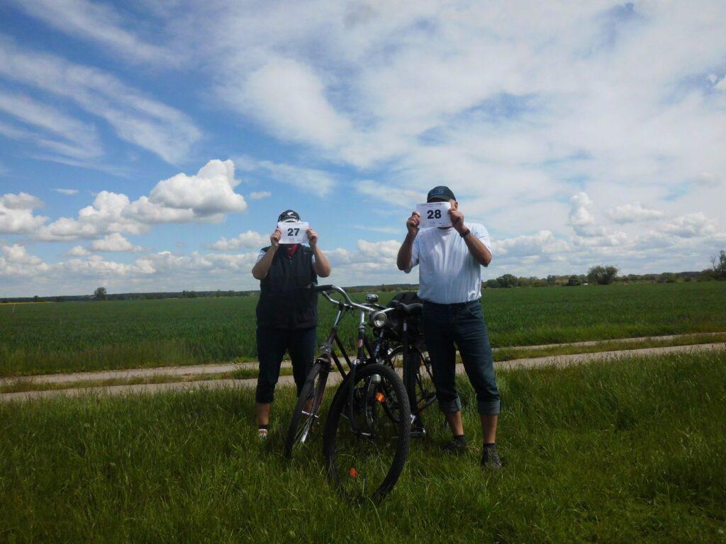 Schöne Radtour Magdeburg-Biederitz-Gerwisch. Viele liebe Grüße von Daggi und Peter.
